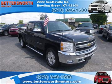 2011 chevrolet silverado 1500 for sale kentucky for Bettersworth motors bowling green ky