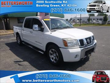 Nissan titan for sale kentucky for Bettersworth motors bowling green ky