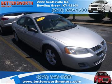 Dodge stratus for sale bowling green ky for Bettersworth motors bowling green ky