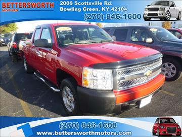 2008 chevrolet silverado 1500 for sale kentucky for Bettersworth motors bowling green ky