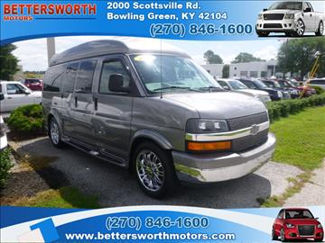 Chevrolet express cargo for sale kentucky for Bettersworth motors bowling green ky