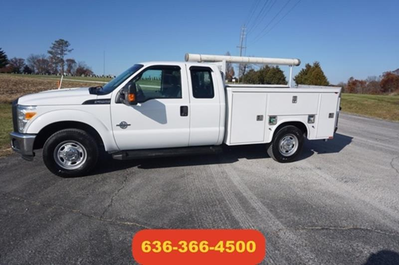Ford F  Super Duty   Powerstroke Ligtgate Mechanic Bed Moscow Mills Mo