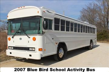 2007 Blue Bird School Activity Bus