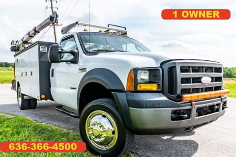 2007 Ford F-550 Super Duty for sale in Moscow Mills, MO