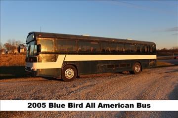 2005 Blue Bird School Activity Bus