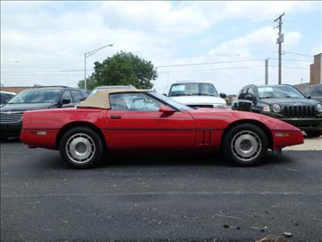 1987 Chevrolet Corvette for sale in Addison, IL