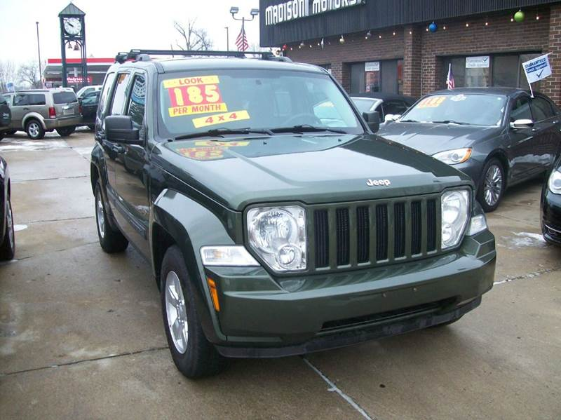 2009 Jeep Liberty 4x4 Sport 4dr Suv In Madison Heights Mi
