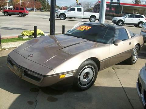 1985 Chevrolet Corvette For Sale Kansas City Mo