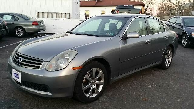 2005 infiniti g35 x awd 4dr sedan in glenolden. Black Bedroom Furniture Sets. Home Design Ideas