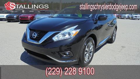 2017 Nissan Murano for sale in Thomasville, GA
