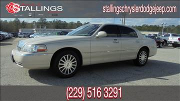 2003 Lincoln Town Car for sale in Thomasville, GA