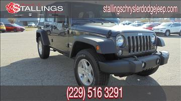2017 Jeep Wrangler Unlimited for sale in Thomasville, GA