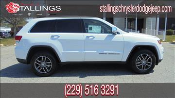 2017 Jeep Grand Cherokee for sale in Thomasville, GA