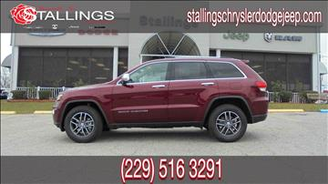 2017 Jeep Grand Cherokee for sale in Thomasville, GA