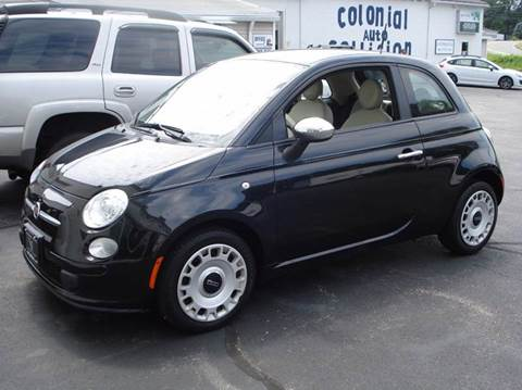 2012 FIAT 500 for sale in Worcester, MA