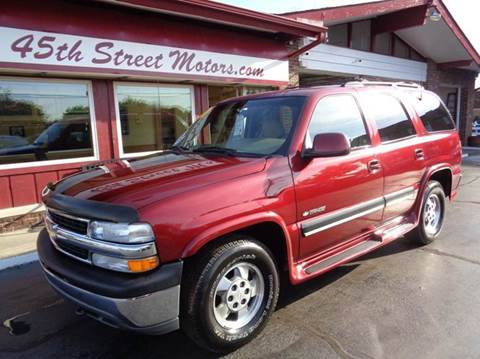 2001 Chevrolet Tahoe for sale in Highland, IN