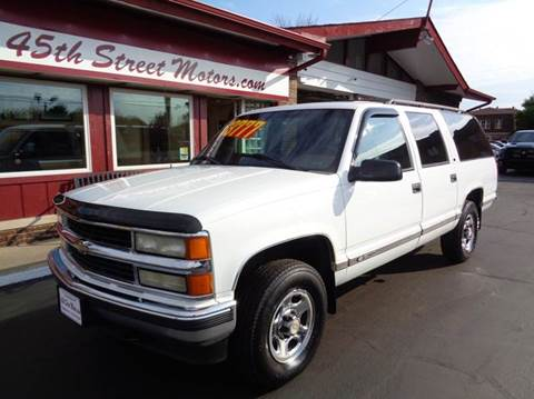 1999 Chevrolet Suburban for sale in Highland, IN