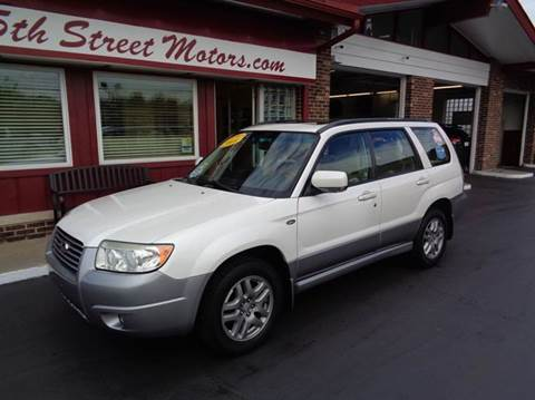 2008 Subaru Forester for sale in Highland IN