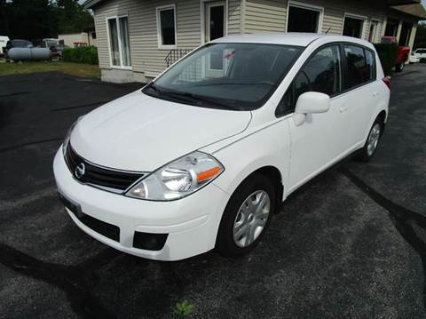 2012 Nissan Versa for sale in Hooksett, NH