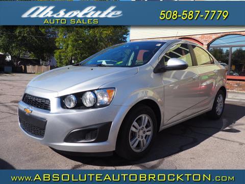 2016 Chevrolet Sonic for sale in Brockton, MA