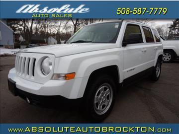 2012 Jeep Patriot for sale in Brockton, MA