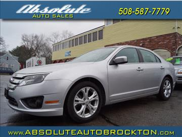 2012 Ford Fusion for sale in Brockton, MA