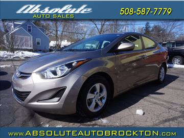 2015 Hyundai Elantra for sale in Brockton, MA