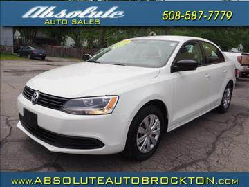 2013 Volkswagen Jetta for sale in Brockton, MA