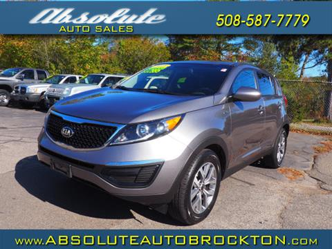 2016 Kia Sportage for sale in Brockton, MA