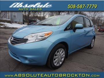 2014 Nissan Versa Note for sale in Brockton, MA