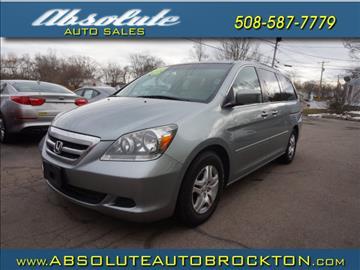 2007 Honda Odyssey for sale in Brockton, MA