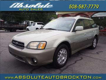 2004 Subaru Outback for sale in Brockton, MA