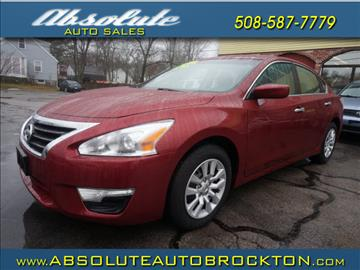 2015 Nissan Altima for sale in Brockton, MA