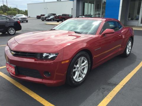 Used 2014 Chevrolet Camaro For Sale In Wisconsin