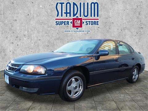 2002 Chevrolet Impala for sale in Salem, OH