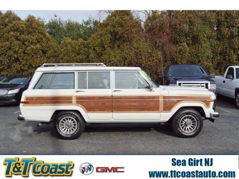 1989 Jeep Grand Wagoneer for sale in Sea Girt, NJ
