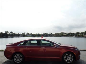 2014 Lincoln MKZ Hybrid for sale in North Palm Beach, FL