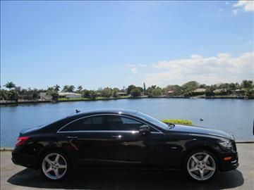 2012 Mercedes-Benz CLS for sale in North Palm Beach, FL