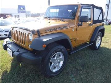 2014 Jeep Wrangler for sale in Enterprise, AL