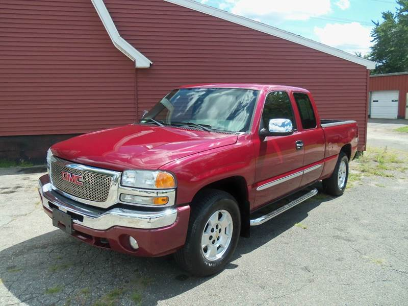 2006 GMC Sierra 1500 SLE1 4dr Extended Cab 4WD 6.5 ft. SB - Ludlow MA
