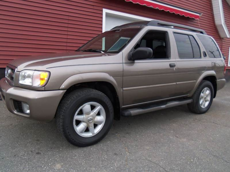2002 Nissan Pathfinder Se 4wd 4dr Suv In Ludlow Ma Red
