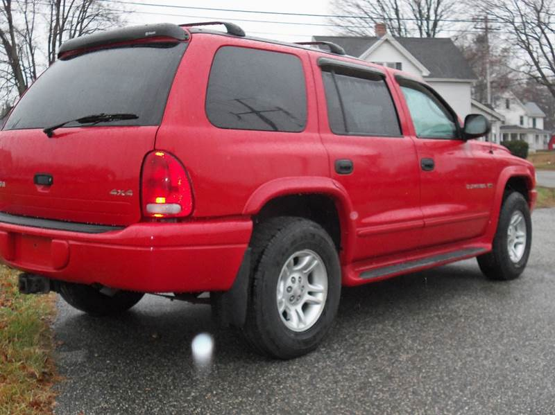 2001 Dodge Durango Sport 4WD 4dr SUV In Ludlow MA - Red ...