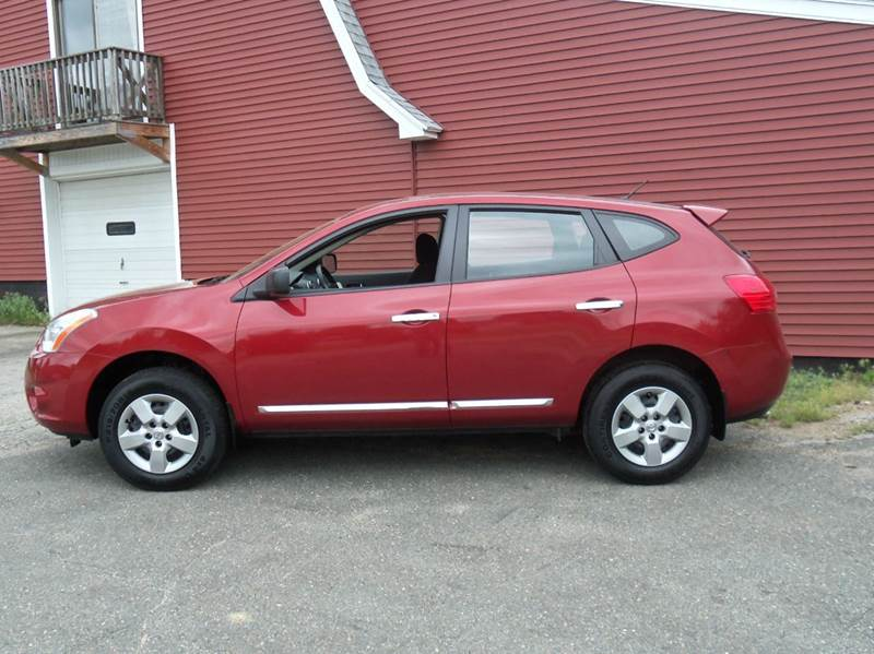 2013 Nissan Rogue AWD S 4dr Crossover - Ludlow MA