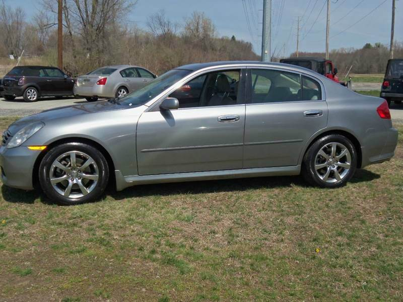 2005 Infiniti G35 Leather  Rwd 4dr Sedan - Ludlow MA