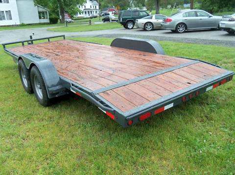 2017 LAMAR 10,000 gvw car trailer