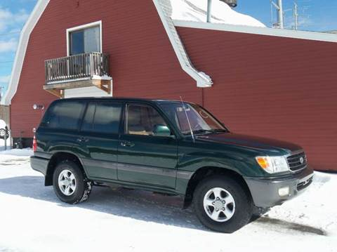 2000 Toyota Land Cruiser for sale in Ludlow, MA