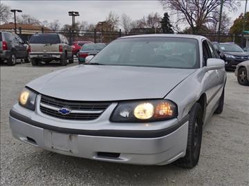 2003 Chevrolet Impala For Sale Chicago Il Carsforsale Com