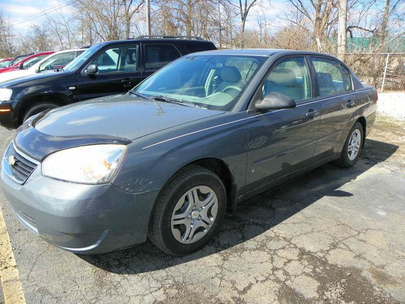 2007 chevrolet malibu ls fleet 4dr sedan i4 in jackson mi. Black Bedroom Furniture Sets. Home Design Ideas