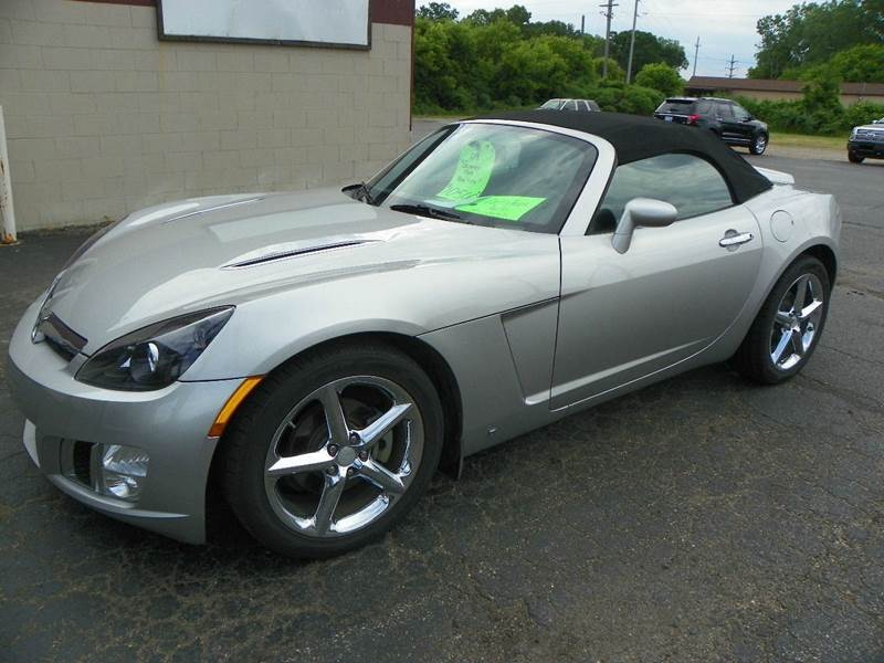 2009 saturn sky red line 2dr convertible in jackson mi auto merchants inc. Black Bedroom Furniture Sets. Home Design Ideas