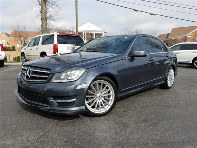 Mercedes benz c class for sale in raleigh nc for Used mercedes benz raleigh nc